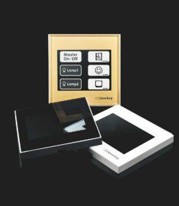 Włączniki dotykowe SaveKey - ramki szklane